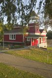 Little Red Schoolhouse Royalty Free Stock Photography