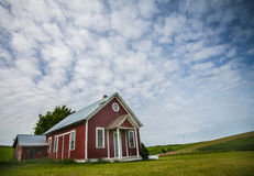 Little Red Schoolhouse Royalty Free Stock Image