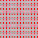 Little red stars pattern for Christmas supports Stock Images
