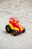 Little red toy car Royalty Free Stock Image