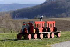 The little red train Royalty Free Stock Photo