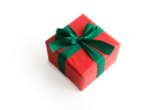 Little red xmas gift Royalty Free Stock Photo