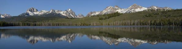 Little Redfish Lake Stock Image