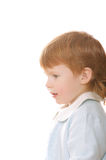Little redhead boy Stock Photo