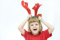 Little reindeer Royalty Free Stock Photos