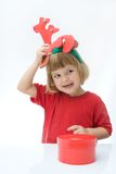Little reindeer Royalty Free Stock Image