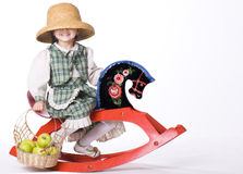 Little rider Royalty Free Stock Images