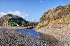Little River At Branscombe Stock Photos