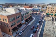 Little Rock, AR/USA - około Luty 2016: Śródmieście Little Rock, Arkansas Obraz Stock