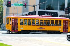 Trolley Downtown Little Rock Arkansas Royalty Free Stock Images