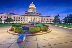 Little Rock, Arkansas, Etats-Unis au capitol d'état photo stock