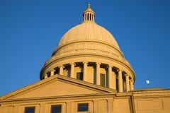 Little Rock, Arkansas - State Capitol Stock Photography
