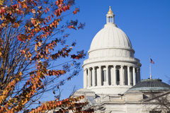 Little Rock, Arkansas - State Capitol Stock Photography