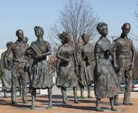 Little Rock Dziewięć praw obywatelskich Obrazy Stock