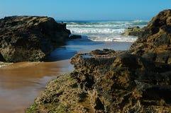 little rock na plaży Zdjęcia Royalty Free