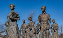 Little Rock Negen Burgerrechtengedenkteken Royalty-vrije Stock Afbeeldingen