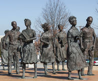 Little Rock Nine Civil Rights stock images