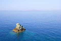 Little rocky island in the sea Royalty Free Stock Photo