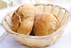 Little roll breads Stock Photography