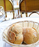Little roll breads Stock Image
