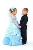 Little romantic couple Royalty Free Stock Photo