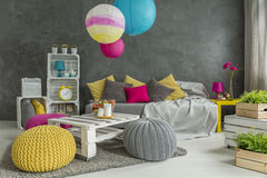 Little room makeover Stock Images