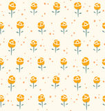 Little roses pattern Stock Images