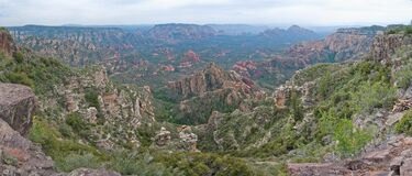 Little Round Mountain (panorama) Royalty Free Stock Photos