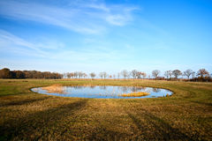 Little round pond Stock Image