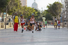 Little Runners, Havana Stock Images