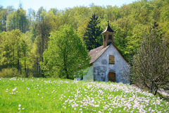 Little rural chapel Royalty Free Stock Image
