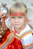 Little russian girl Royalty Free Stock Photo