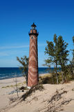 Little Sable Point Light stock image