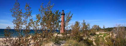 Little Sable Point Lighthouse Stock Photo