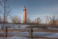 Little Sable Point Lighthouse Stock Image