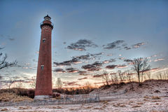 Little Sable Point Lighthouse Royalty Free Stock Image