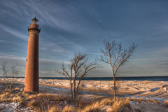 Little Sable Point Lighthouse Royalty Free Stock Photo