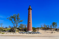 Little Sable Point Lighthouse Tower Stock Images
