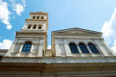 Little Sacro Cuore church in Rome near Termini station Royalty Free Stock Photography