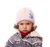 Little sad child. Royalty Free Stock Photo