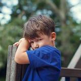 Little sad child Royalty Free Stock Photo