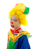 Little sad clown Royalty Free Stock Image