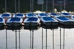 Little sailboats Stock Photo