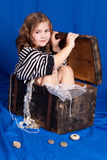 Little sailor Royalty Free Stock Images