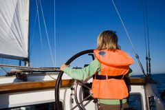 Little sailor Royalty Free Stock Photo