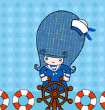 Little_sailor Stock Image
