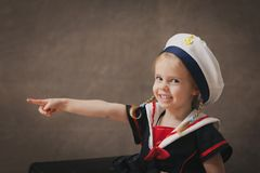 Little sailor stock photos