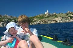 Little sailors Stock Photography