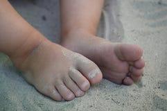 little sandtoes Royaltyfria Foton