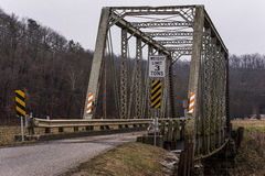 Little Sandy River Bridge - Eastern Kentucky Railroad, Kentucky Stock Photography